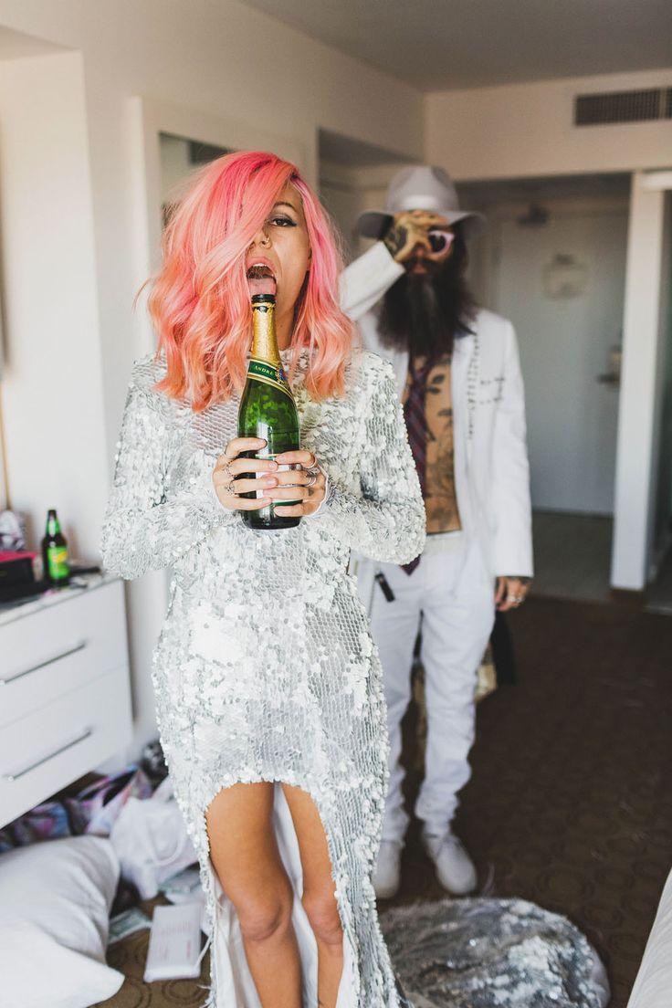 Rock n' Roll Vegas Wedding