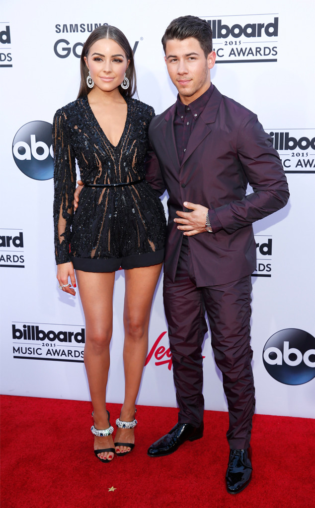 Olivia Cuplo and Nick Jonas Billboard Music Awards 2015
