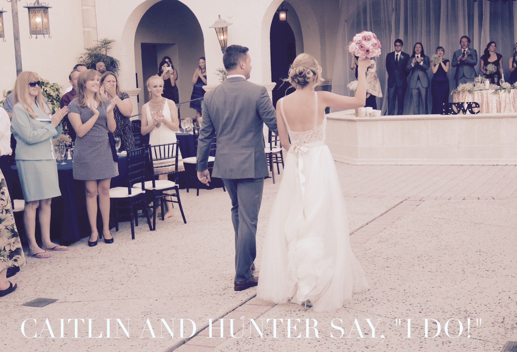 "Caitlin and Hunter Say, ""I Do!"""