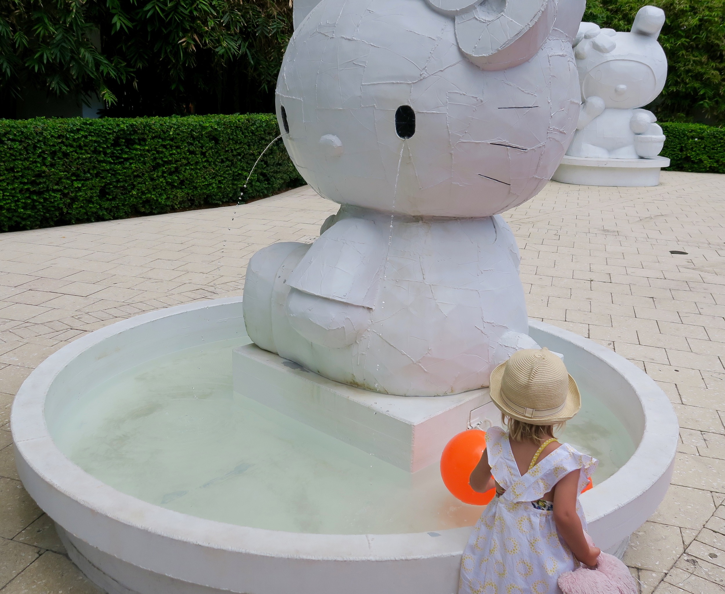 Hello Kitty Fountain