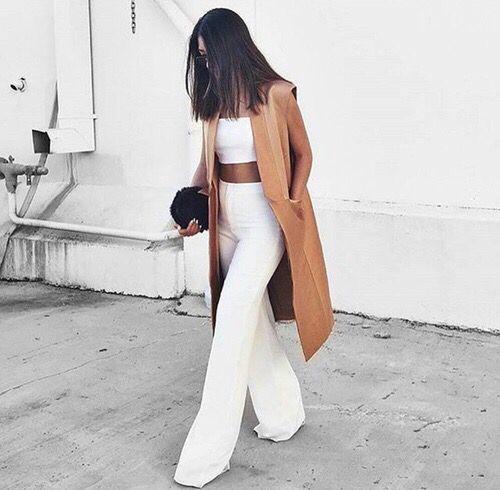 white & tan