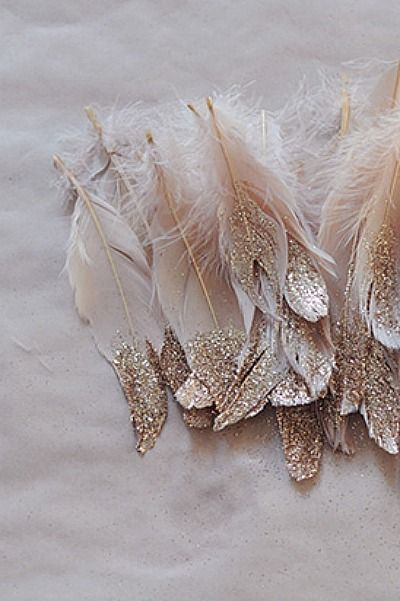 glitter & feathers