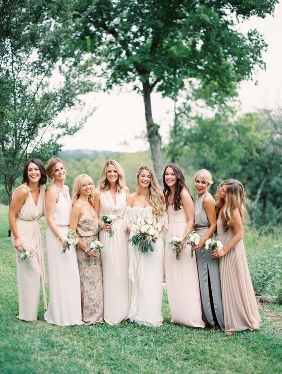 bridesmaid inspo