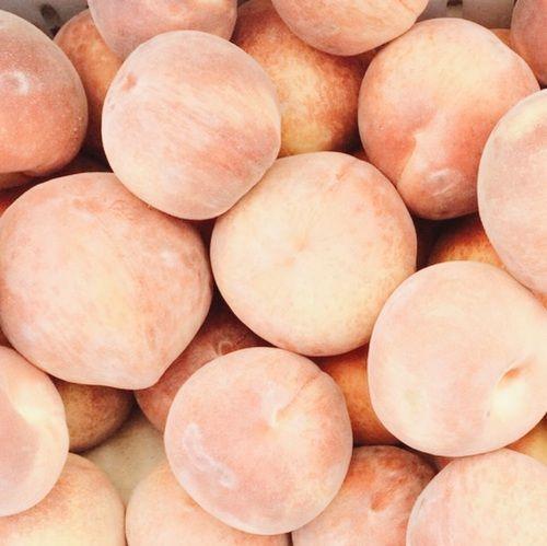 actual peaches