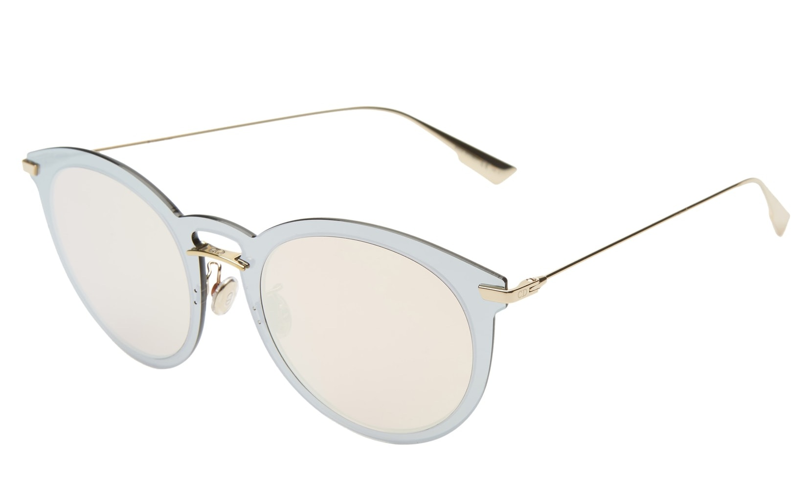UltimeF 53mm Round Aviator Sunglasses DIOR