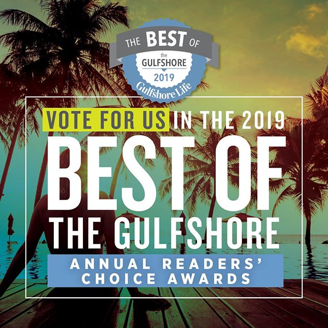 """Hey friends! Please vote for As You Like It Salon Aveda for the """"2019 Best of the Gulfshore Annual Readers' Choice Awards""""! Visit http://ow.ly/6ggb30ntTjB  and type in As You Like It Salon Aveda for the Hair Salon Lee County option! Thank you so much in advance for your support!"""