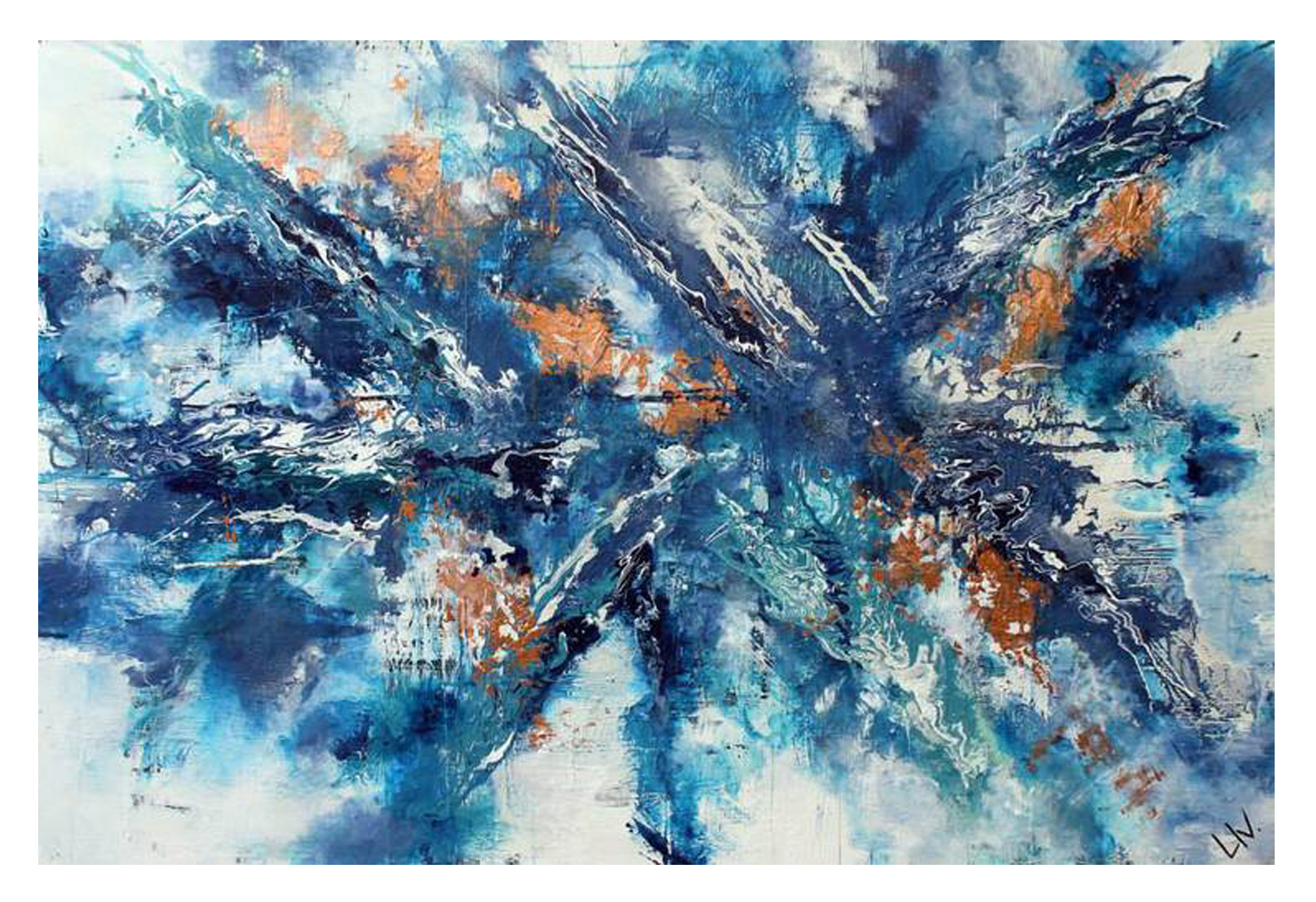'denim sky' (sold)