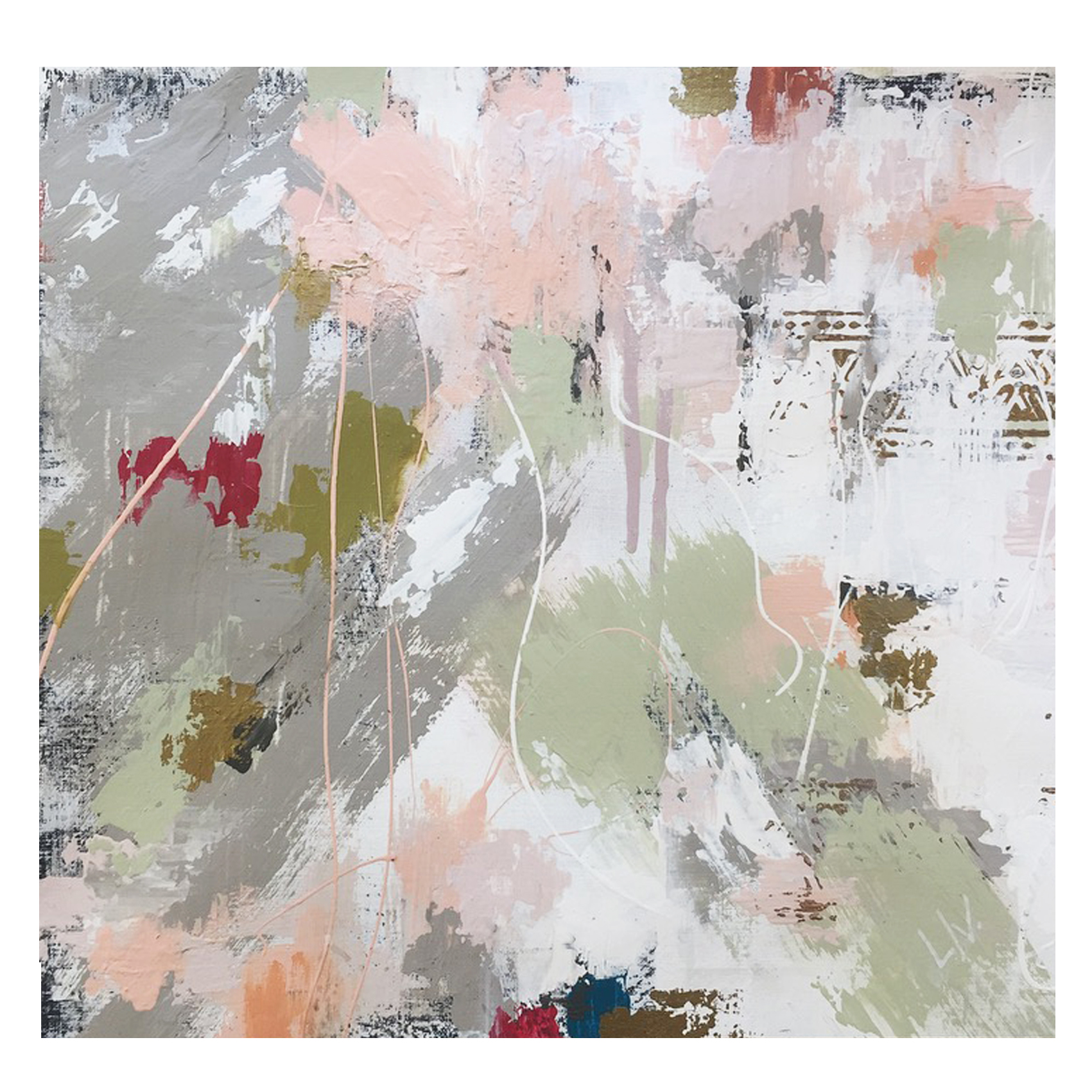 'confetti mornings' (sold)