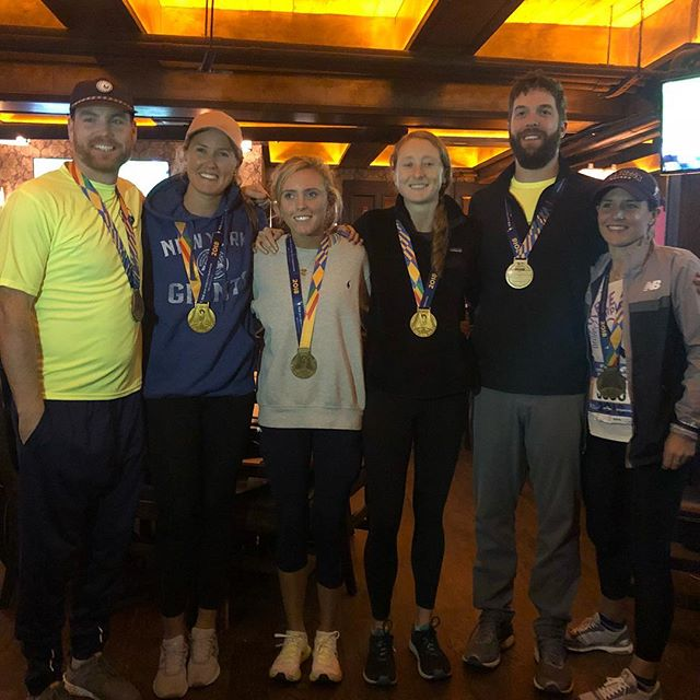 Congratulations to all the runners in yesterday's NYC Marathon!! These 6 finishers are truly inspiring! #tscnycmarathon