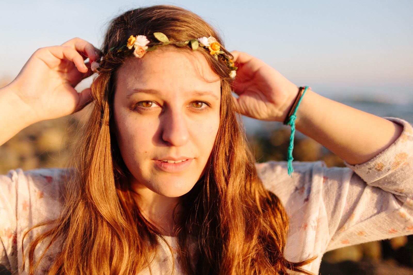 photo of me snapped by Sabrina Hounshell