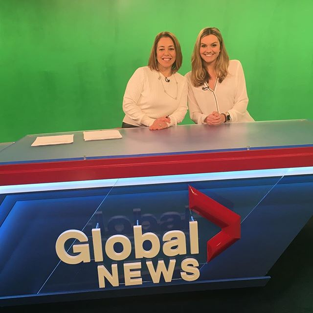 Great afternoon at Global today! Thank you @global_montreal for giving us a platform to discuss our approach to philanthropy. You can watch the segment on Focus Montreal Saturday at 5:30pm or Sunday at 11:30am.