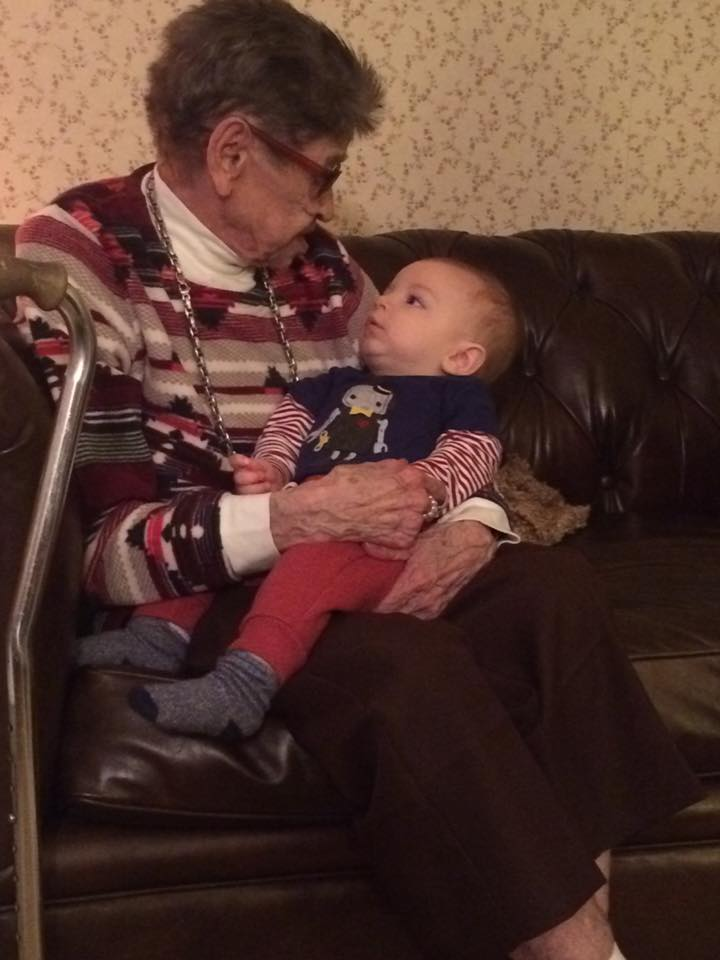 Nanny and Lukas in 2016