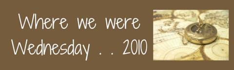 Where we were. . . .