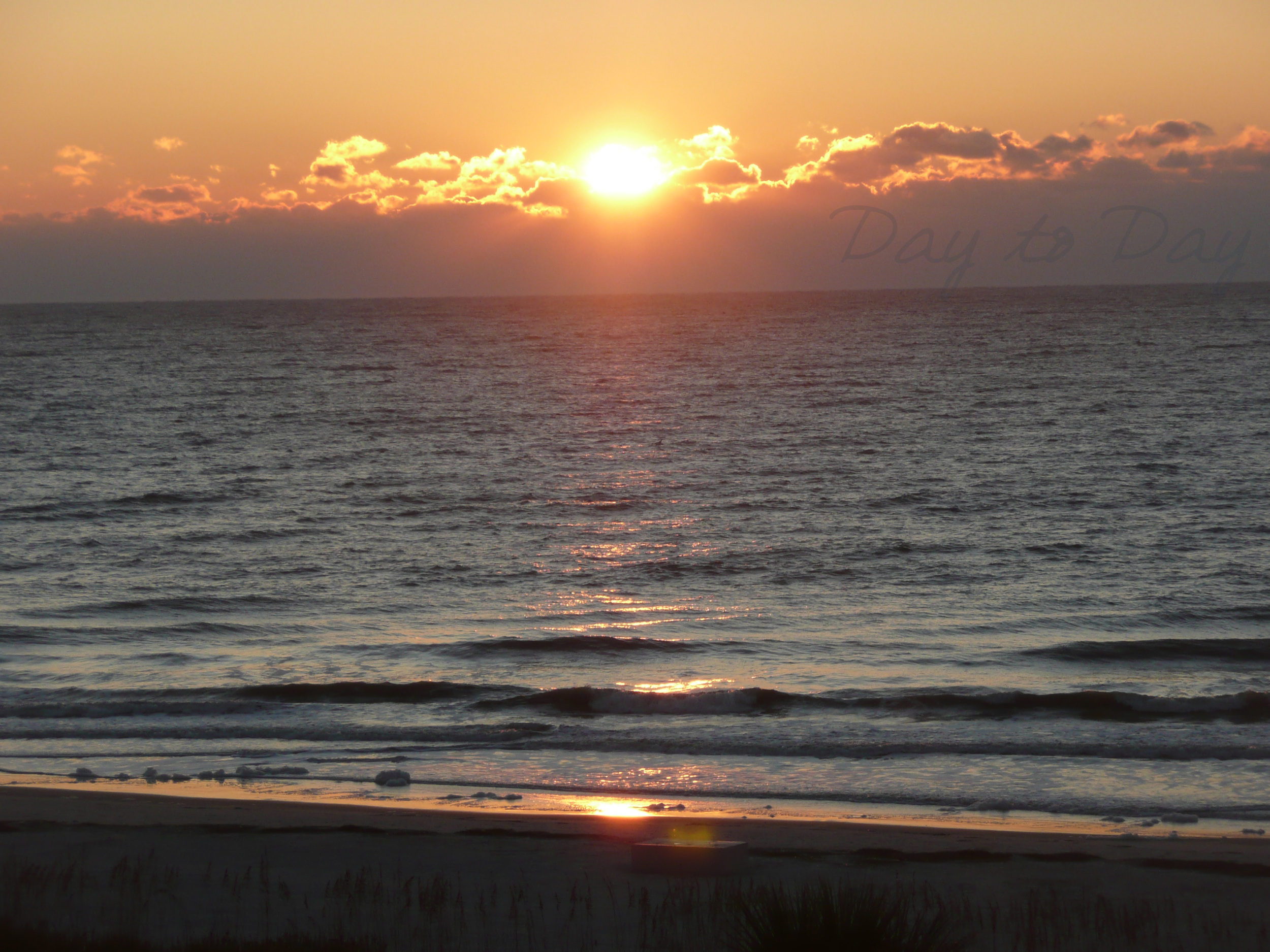 Beach Sunrise Hilton Head