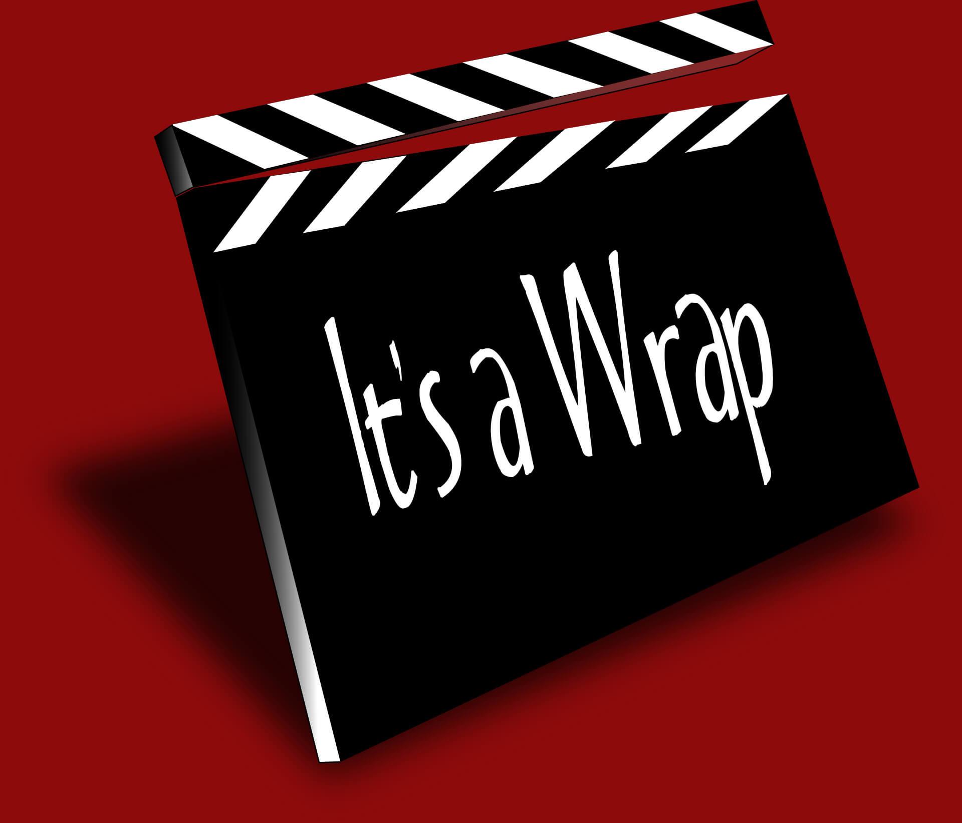 It is a wrap