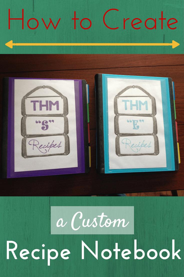Create Custom Recipe Notebook
