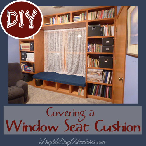 DIY Window Seat Cushion