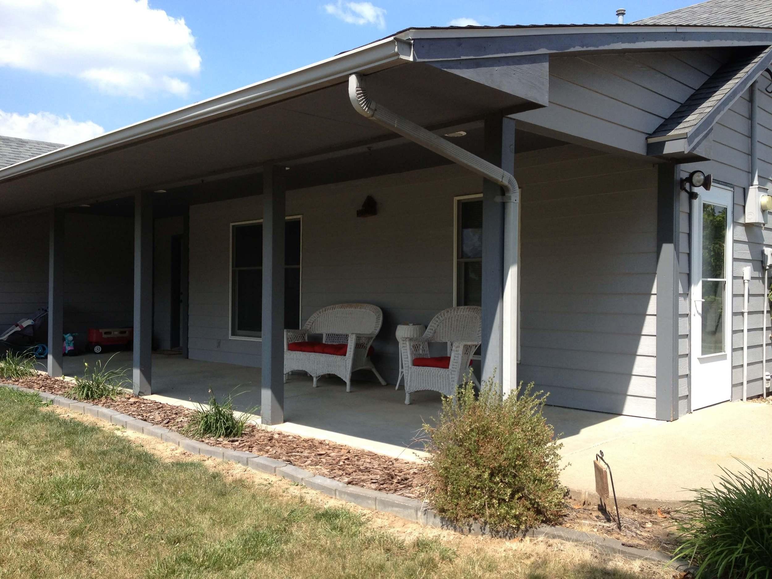 How paint exterior of house - DaytoDayAdventures.com
