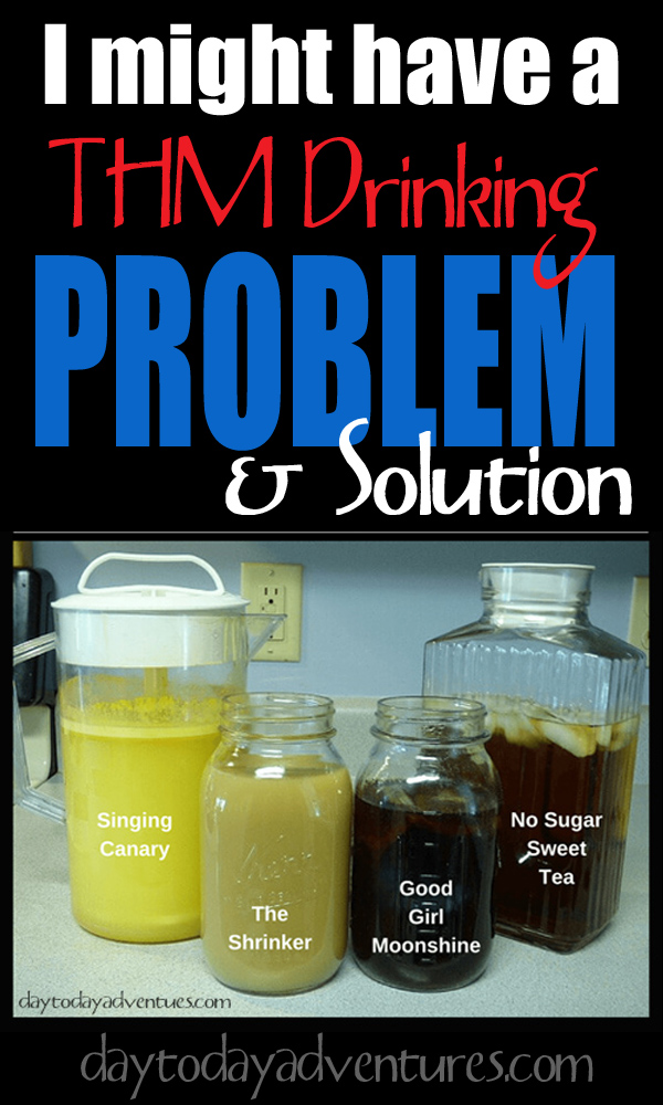 THM Drinking Problem?  Try making your drinks in batches! - DaytoDayAdventures.com