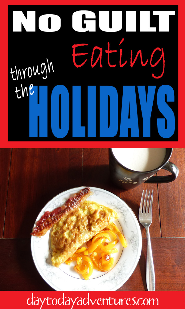 Need a way to stay healthy with your eating in December?  Have you checked out Trim Healthy Mama?  You should! No Guilt Strategy for eating at the Holidays - DaytoDayAdventures.com