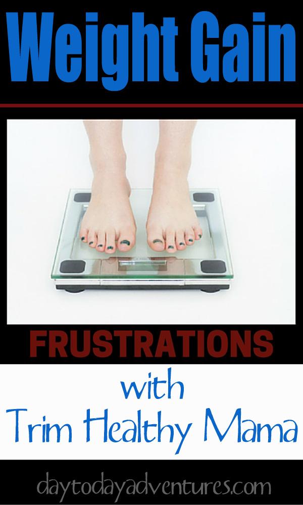 Weight Gain Frustratiosn on THM - DaytoDayAdventures.com