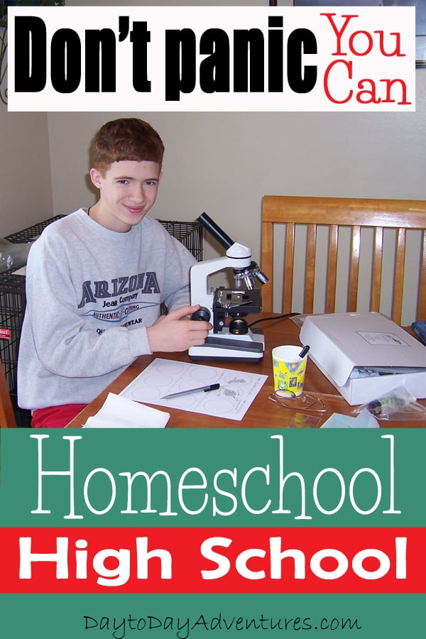 Home School High School - DaytoDayAdventures.com