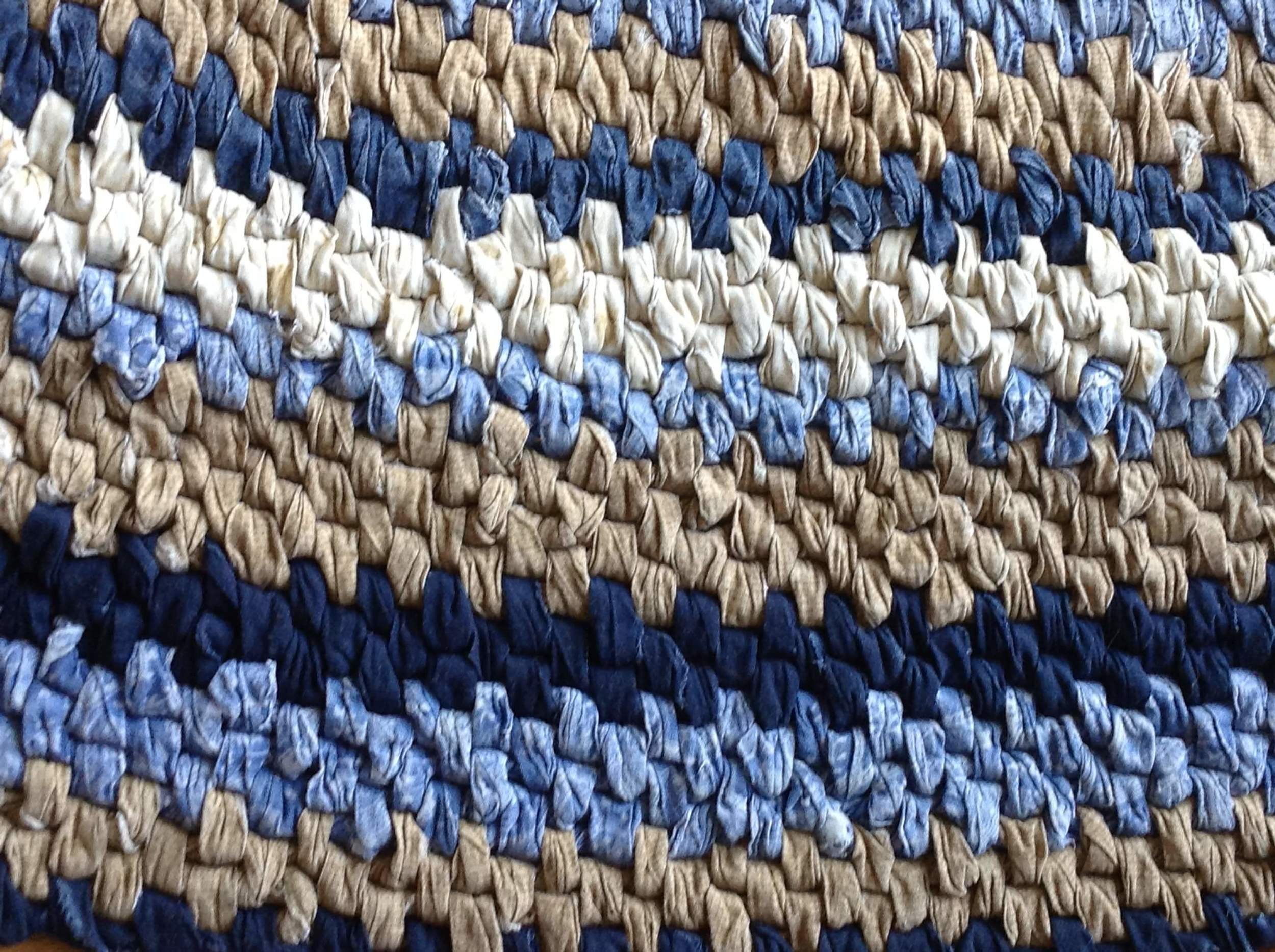 Rag Rugs require a LOT of fabric and that can be expensive.  I have some ideas on where to find cheap fabric - DaytoDayAdventures.com