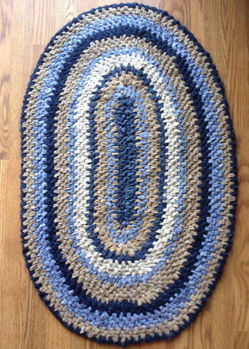 Step By Instructions To Make Your Own Rag Rugs Day