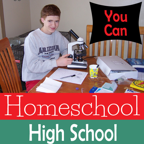 YOU can Homeschool Highschool! - DaytoDayAdventures.com