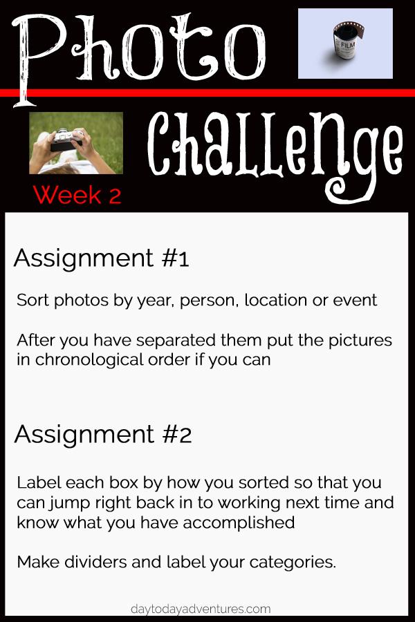 Photo Challenge week 2 - DaytoDayAdventures.com
