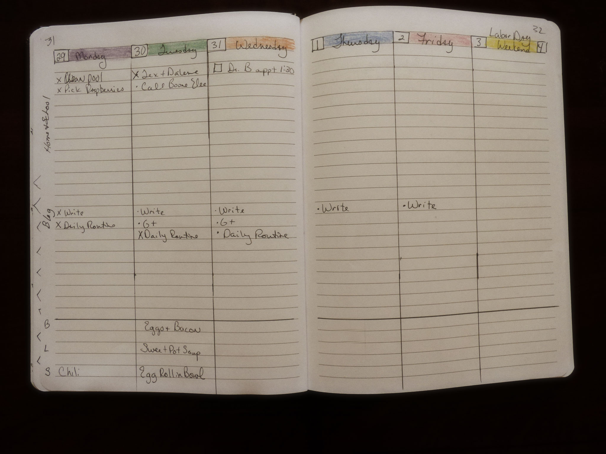 I discovered that a Bullet Journal helps my sort out my chaos!  10 Things I like about Bullet Journaling and a few I don't!--DaytoDayAdventures.com