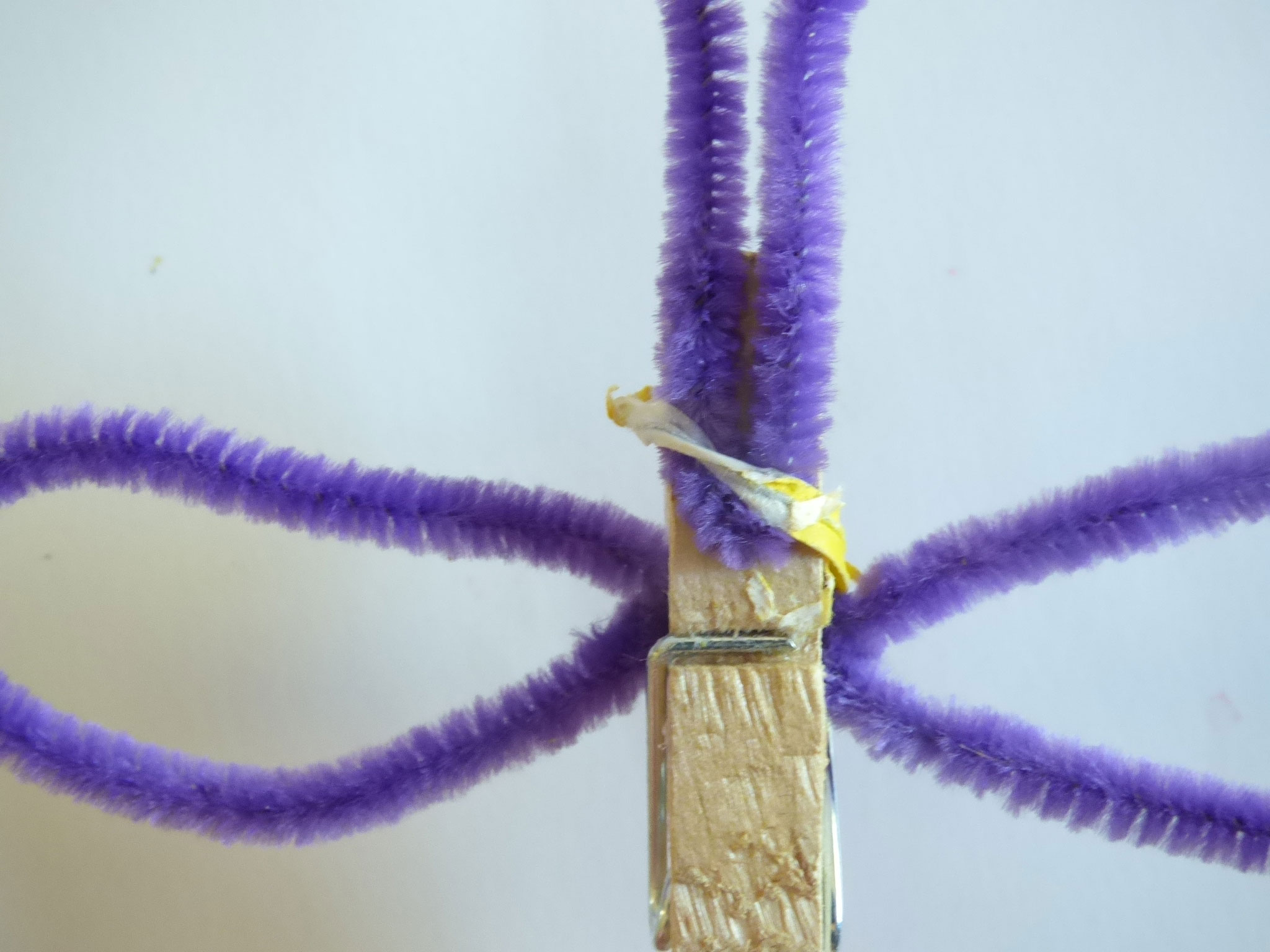 How to make a Clothespin Candy Butterfly - DaytoDayAdventures.com