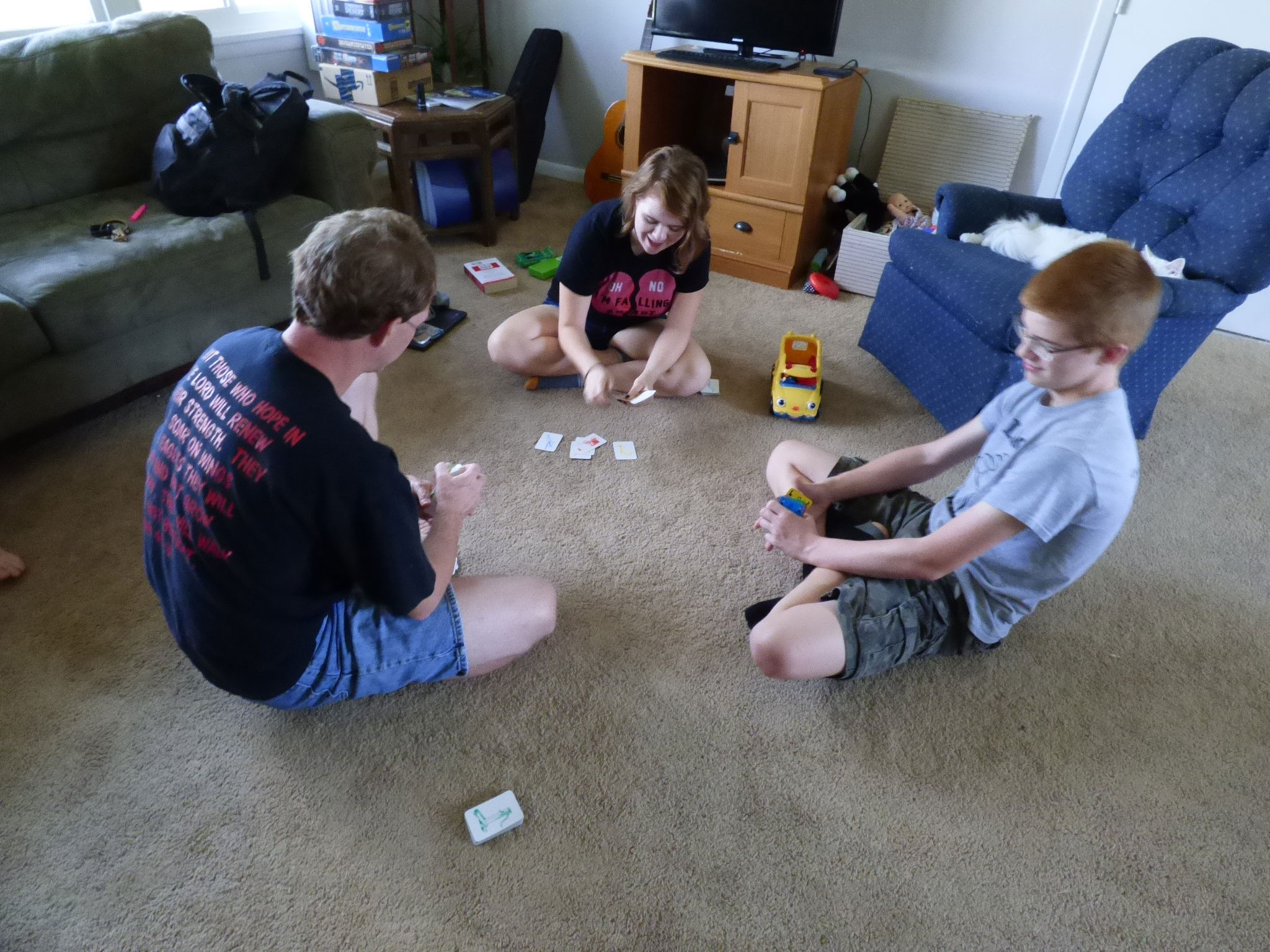 Need some great ideas for connecting with your older kids?  Don't skip family time!  It is important! - DaytoDayAdventures.com