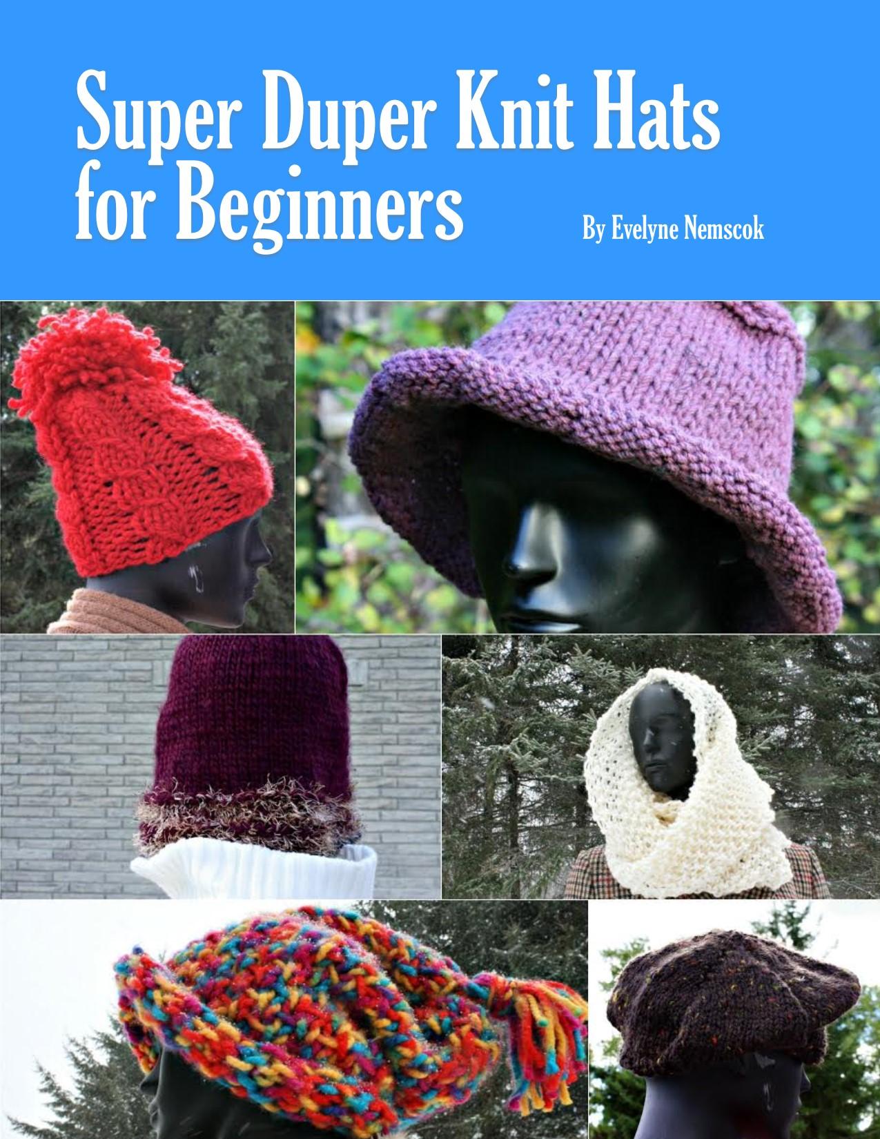 Giveaway for a Super Duper Knit Hat ebook - DaytoDayAdventures.com