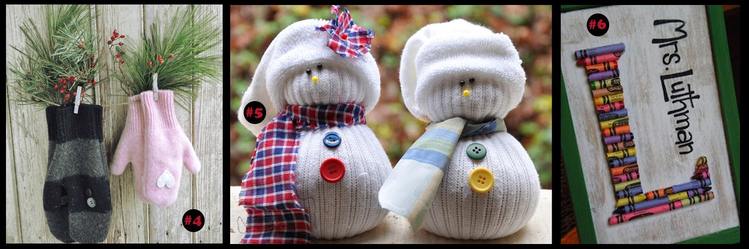 It't time to start working on the Christmas list.  Handmade gifts are special to give but they take TIME!  Check out these great ideas!  - DaytoDayAdventures.com