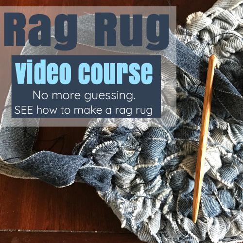 Rag Rug Video Course