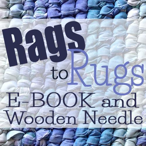 Rag Rug eBook and Needle