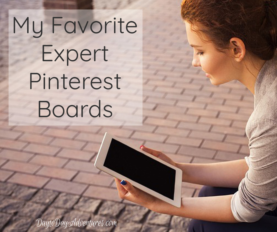 Need some expertise?  Check out these five AWESOME experts on Pinterest