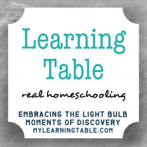 Anne at Learning Table