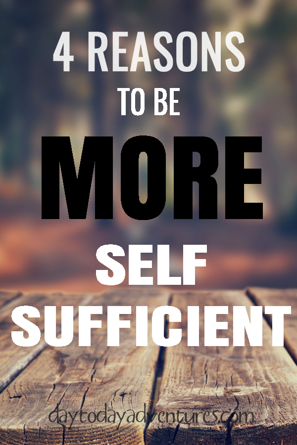 4 reasons to be more self sufficient copy