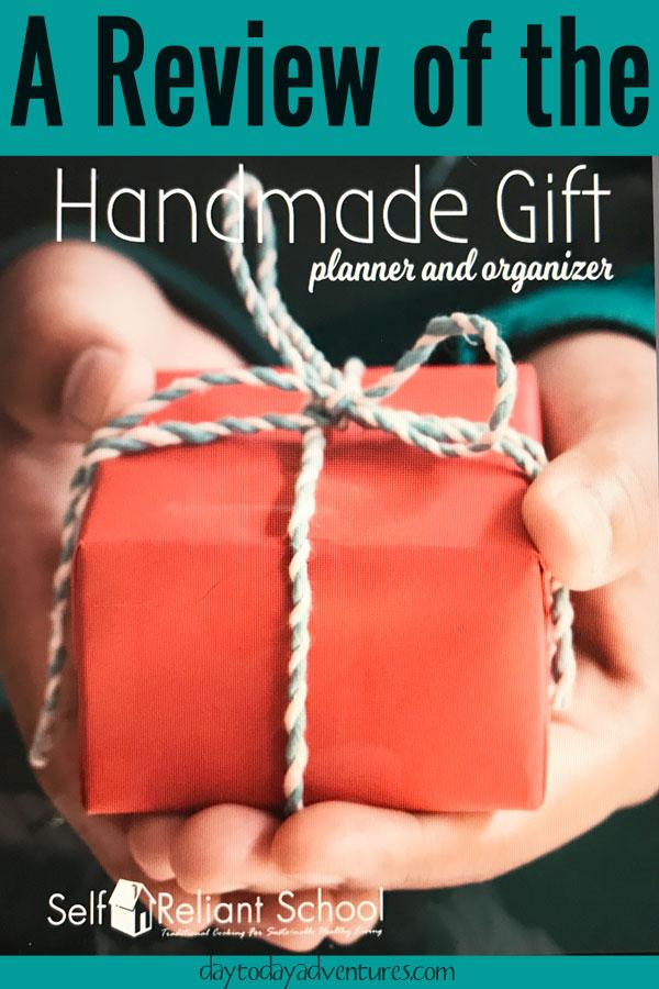 Back to Basics Handmade Gift Planner