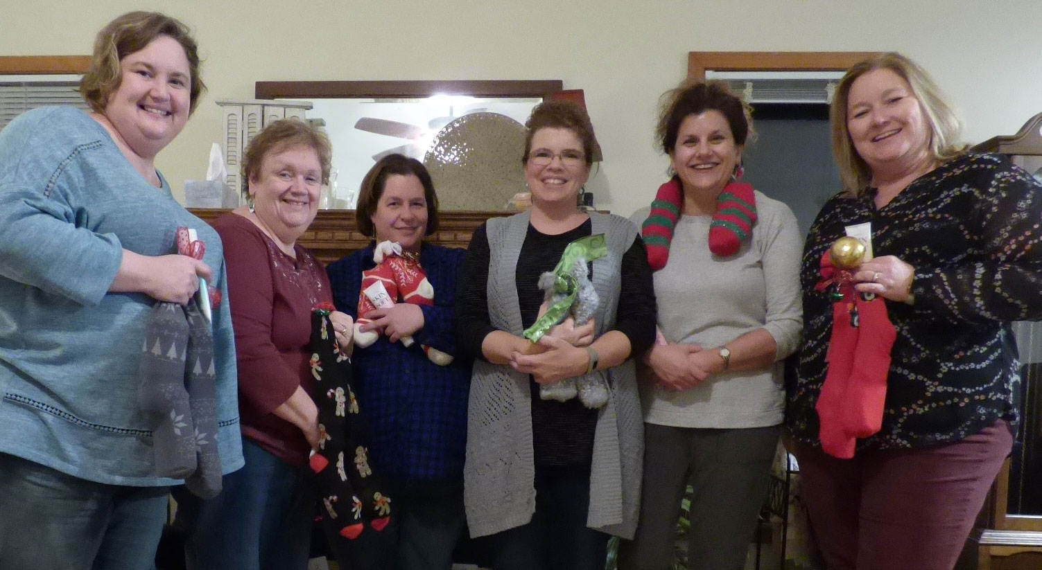 Small group Christmas stocking exchange :)