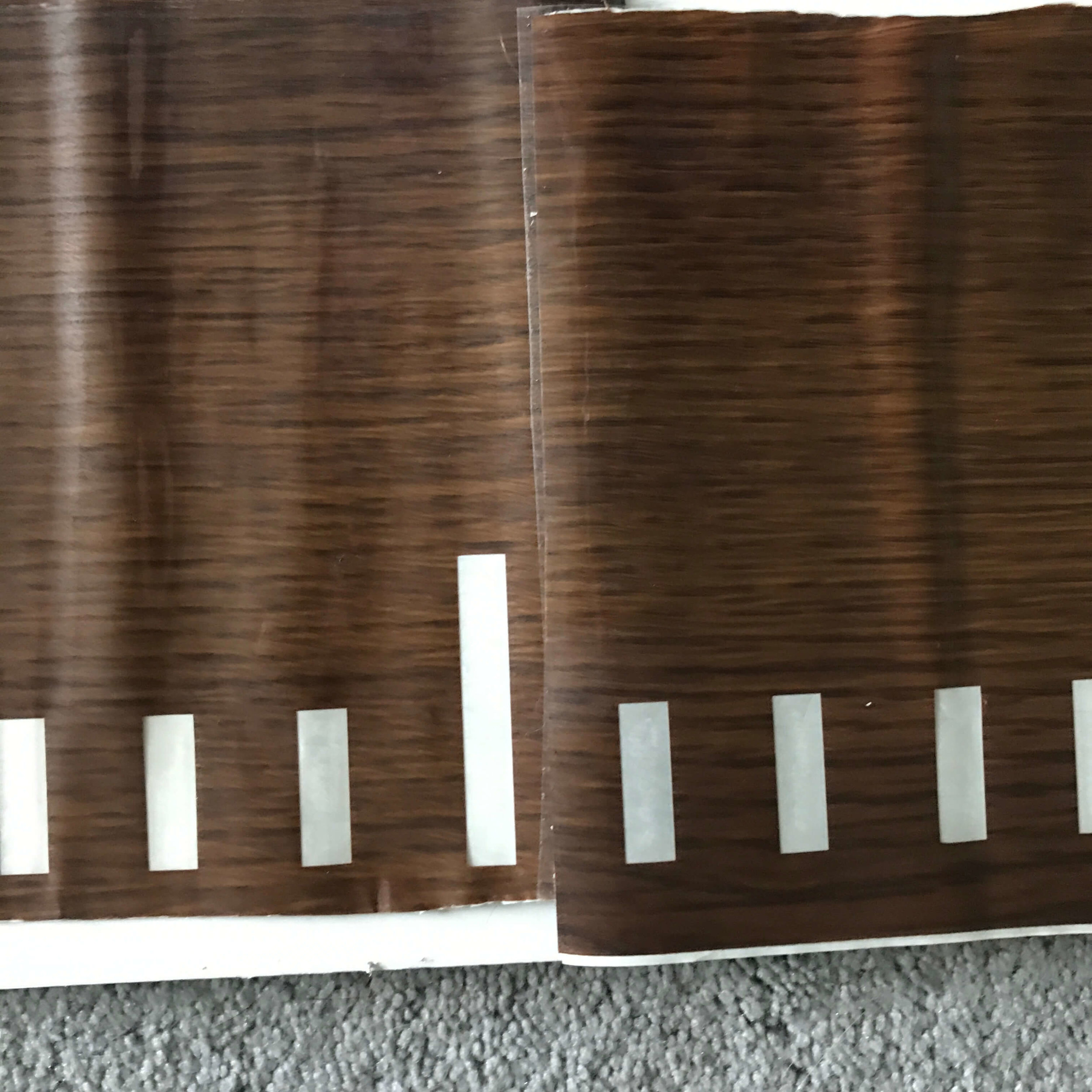 How to make a wooden growth chart
