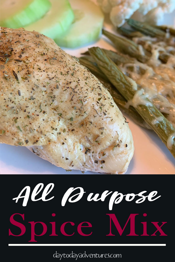 All purpose homemade seasoning mix