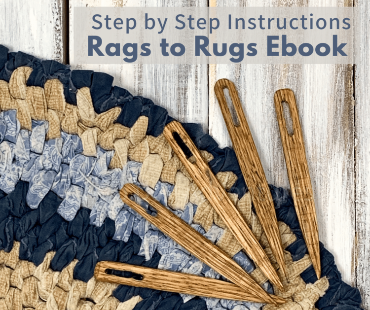 Rags to Rugs ebook - Step by Step Instructions to Make Your Own Rag Rugs