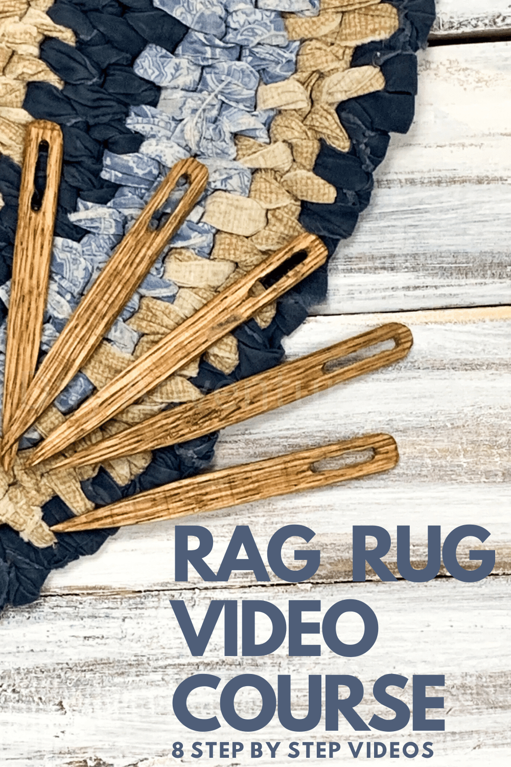 Rag Rug Video Course Day To