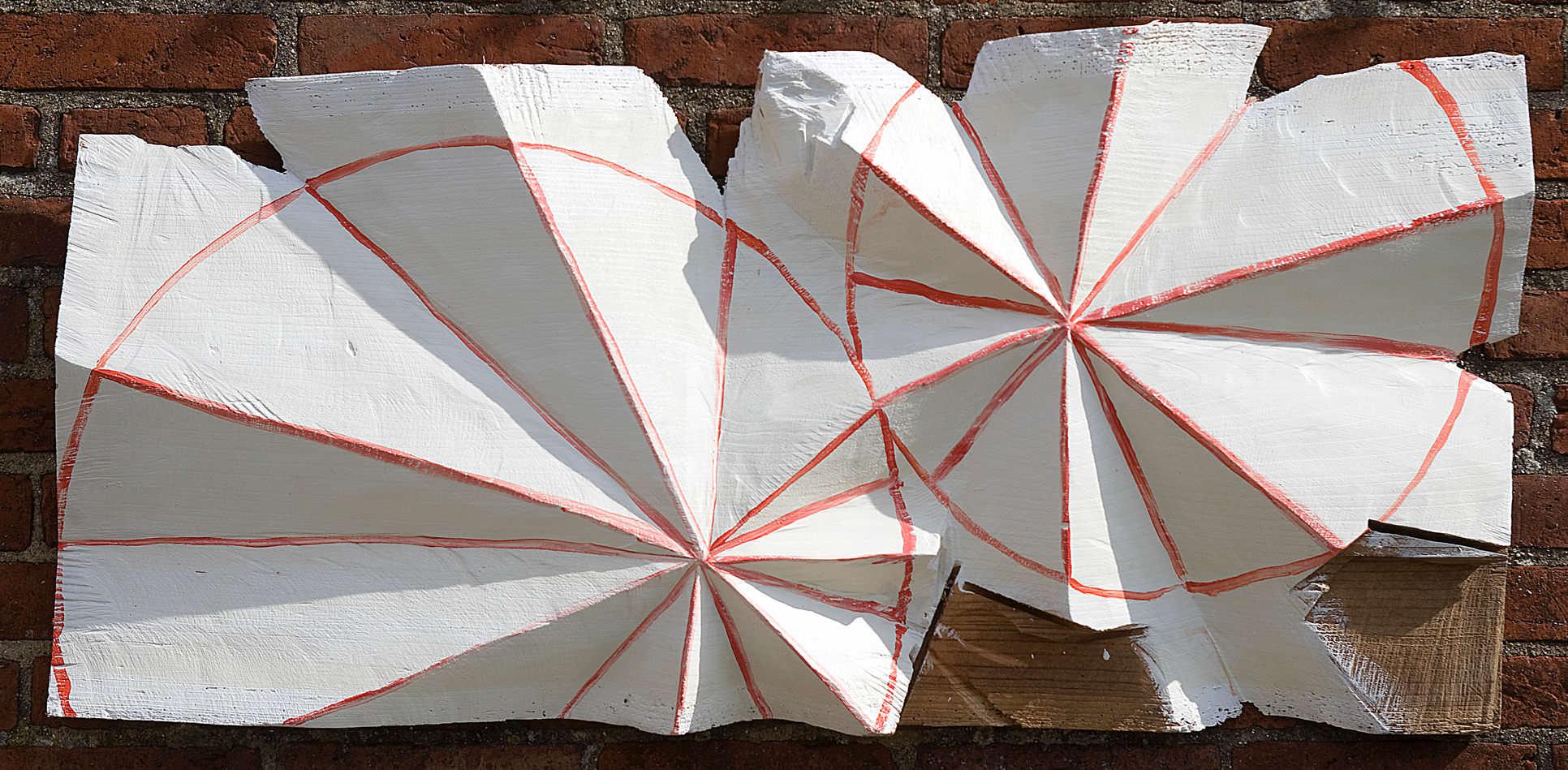 No Titel    Relief made of western red cedar wood, 40 cm X 100 cm, 2014