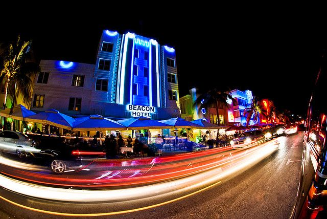 Miami Nightlife by Zack Hughes