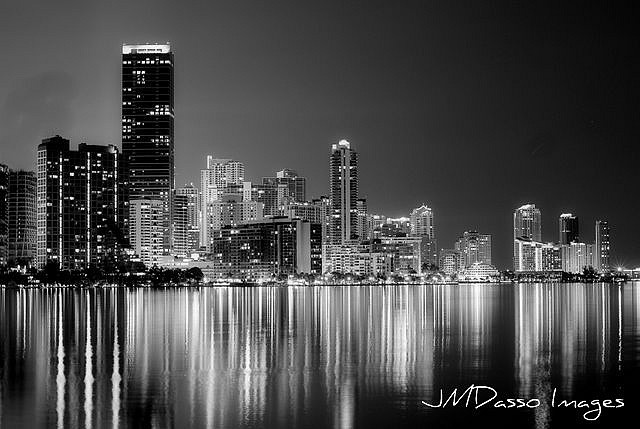 Miami Series in Black and White by JMDasso
