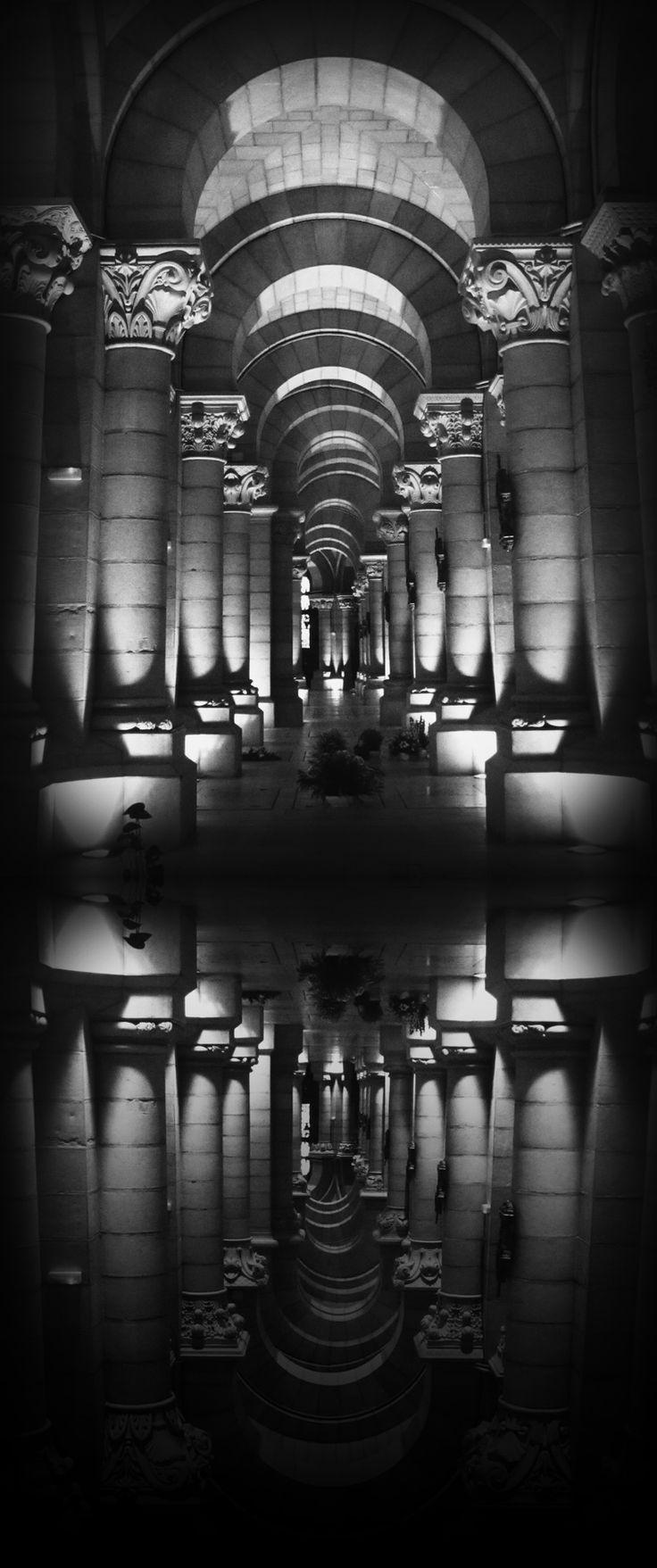 The Crypts of the Cathedral de la Almuneda Madrid, Spain (image source: Laura B Fernandez)